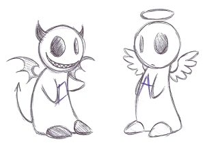 Angel or Devil; Devil or Angel?